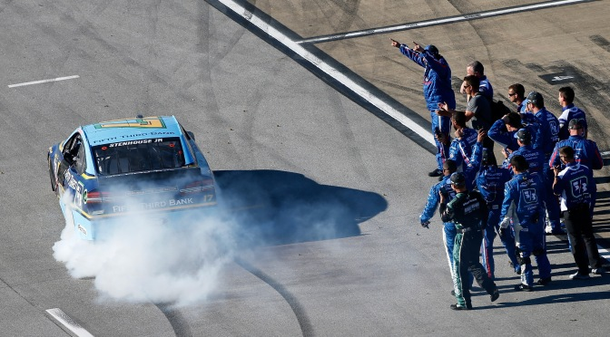 Stenhouse with new sponsor after spectacular win at Talladega