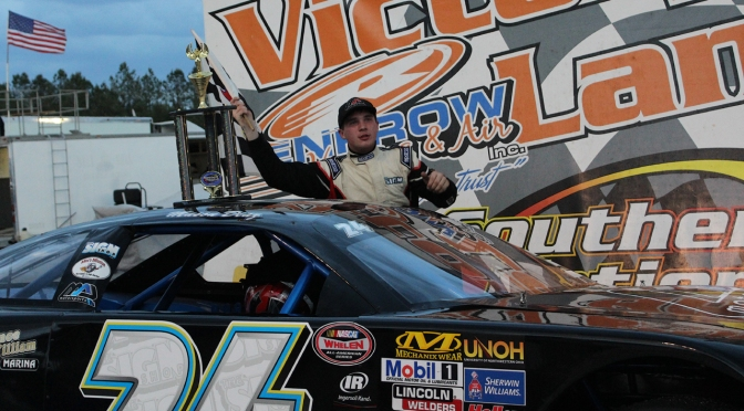 Diaz leads Late Model points after back to back wins at SNMP