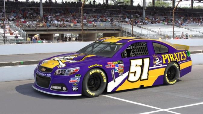 Rick Ware Racing & ECU Team up for 3 Races