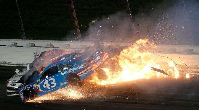 NASCAR will investigate Almirola's accident