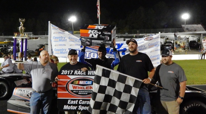 Burbage wins in Dominating fashion at ECMS
