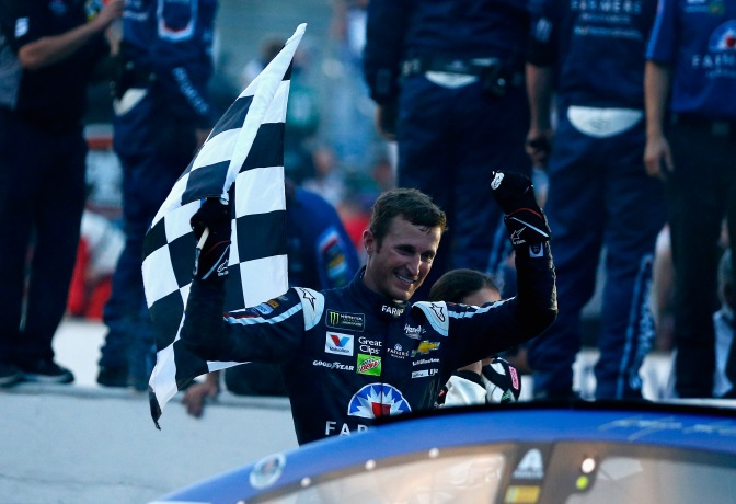 Kahne wins at Indy, Unsure of future at HMS