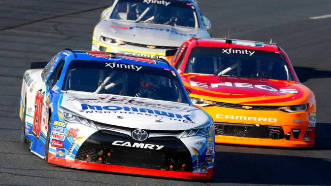 Preece steals the show in NXS race at Loudon