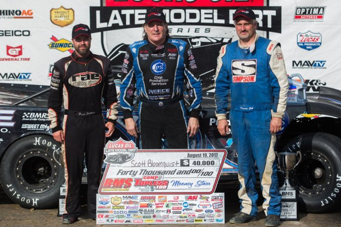 Bloomquist claims 5th Topless 100 Victory