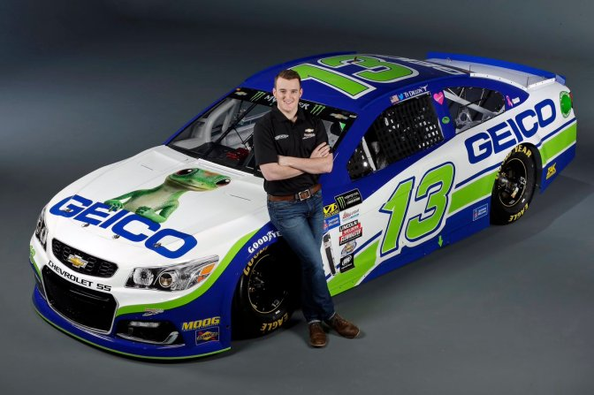 Geico Renews contract with Ty Dillon & Germain Racing