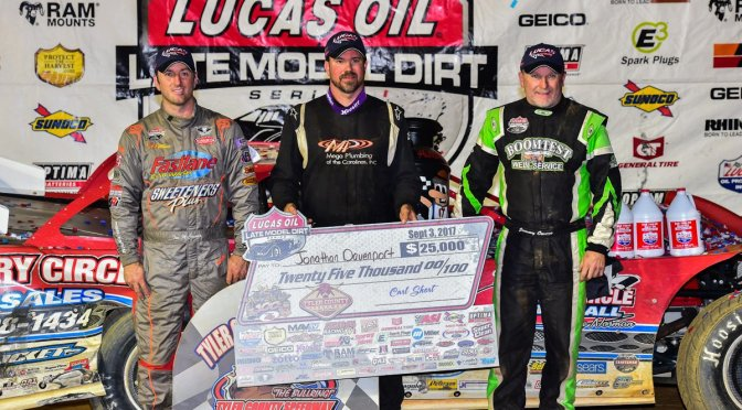 Davenport outduels McCreadie to win the Hillbilly Hundred