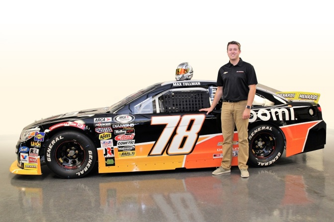Tullman to make ARCA Series debut