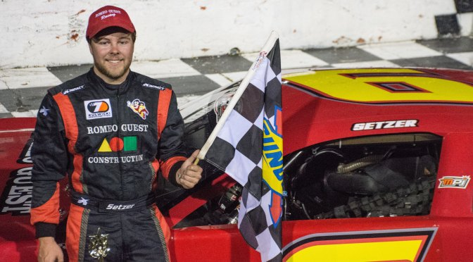 Short Track Community Rallies in support of Brandon Setzer